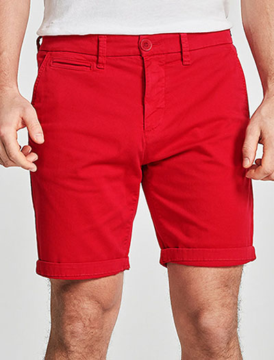 North Sails: Chino Short Slim, Punainen