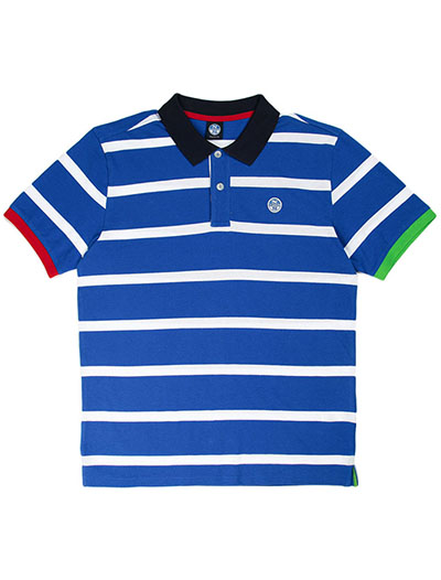 Striped Polo S/S
