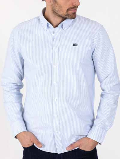 Oxford Stripe Shirt B.D
