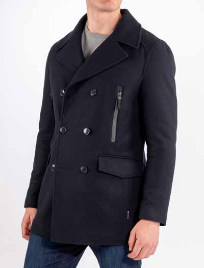 Nautical Pea Coat kipparitakki